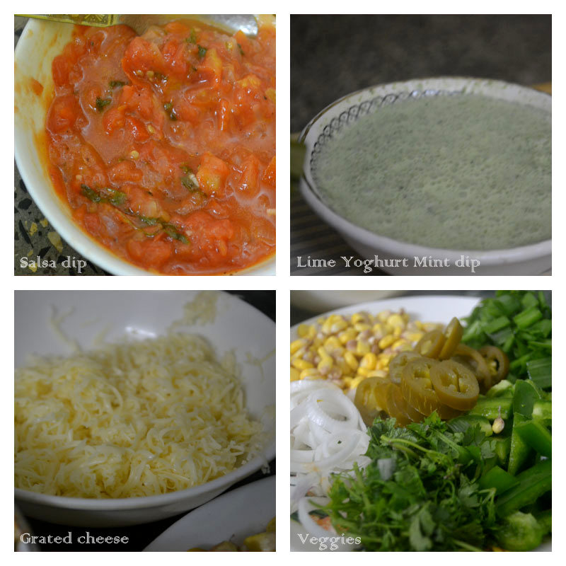 Homemade dips
