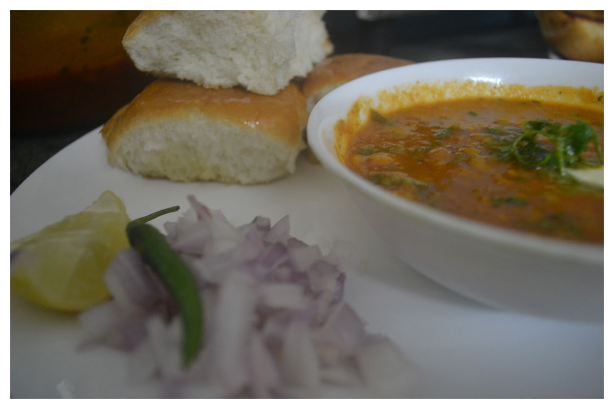 Delicious Homemade Pav Bhaji