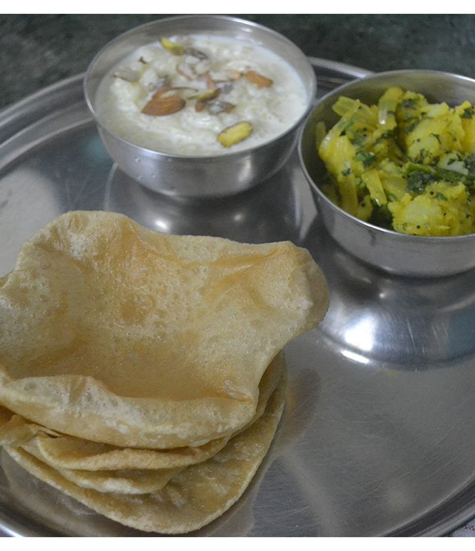 Puri and Aloo Bhaji ~ A Ganesh Chaturthi Special