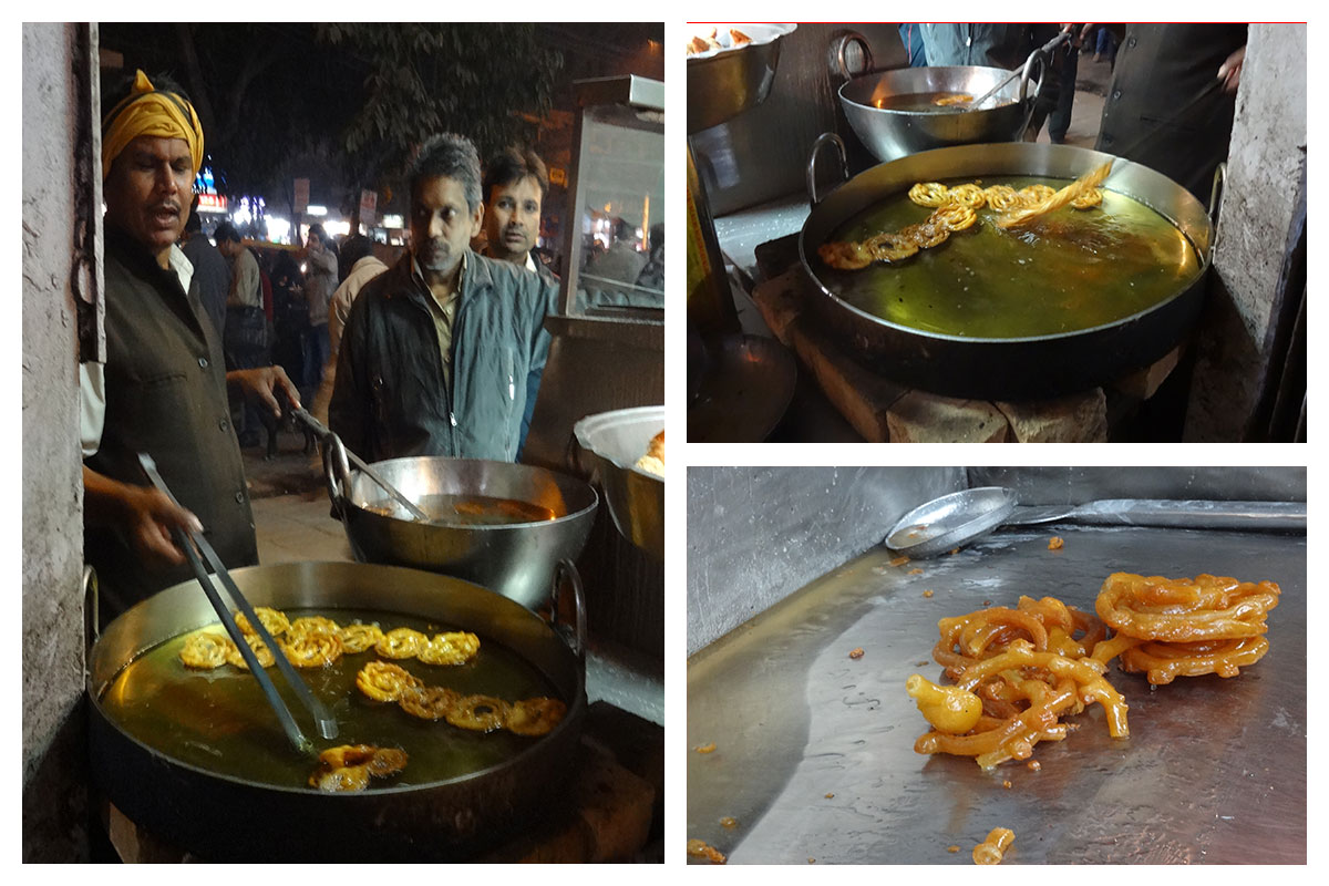 Chandni Chowk Jalebi wala food walk