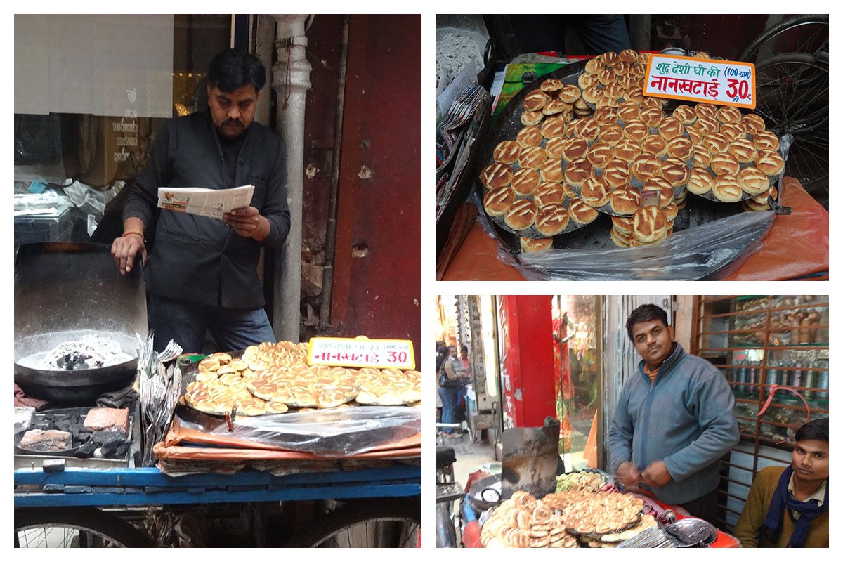Nan Khatai in Chandni Chowk