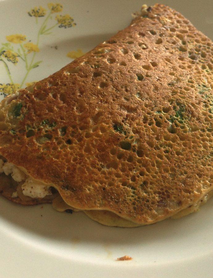 Besan ka Cheela – Gram flour pancakes