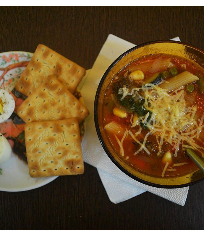 Veg Minestrone Soup