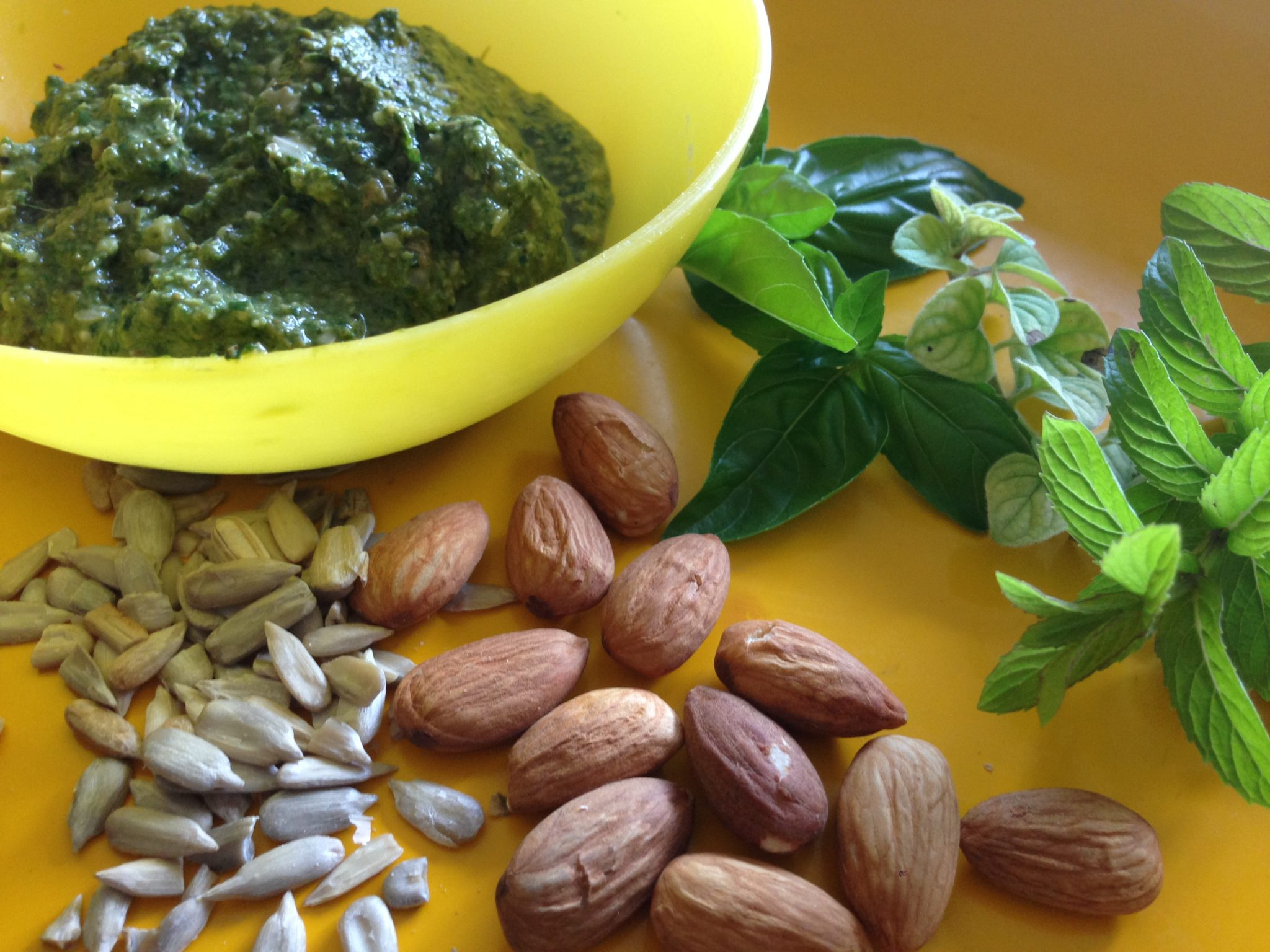 Nutty Pesto