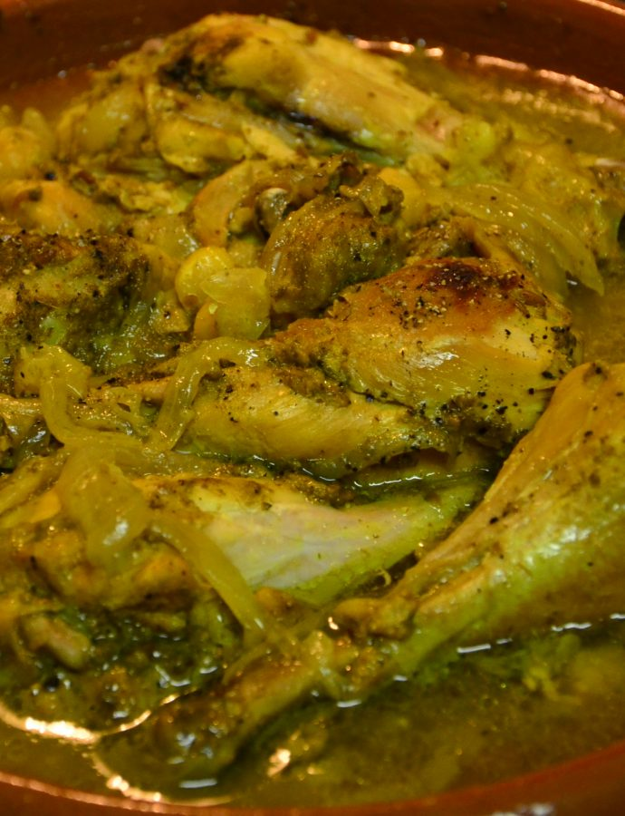 Chickpea & Chicken Tajine