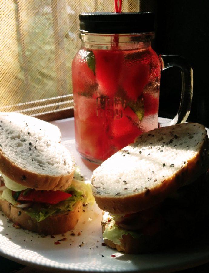 Greens & Hummus Sandwich
