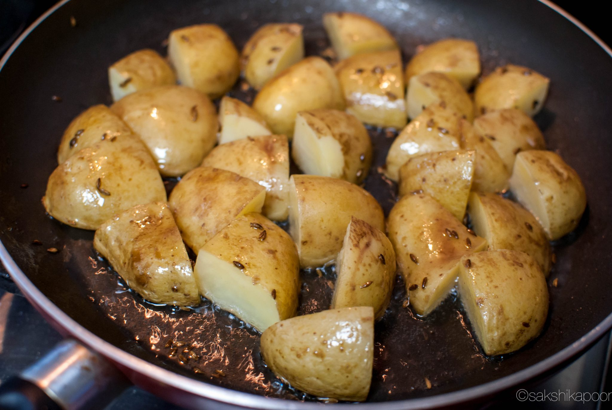 Quick and Simple Jeera Aloo recipe