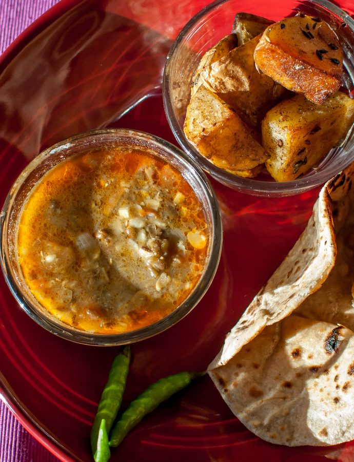 How to Dhaba and other stories ~ Dhabe wali dal and Jeera Aloo
