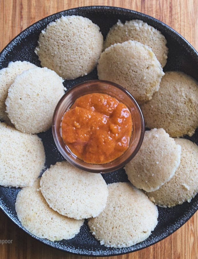 Make ahead Oats Idli mix