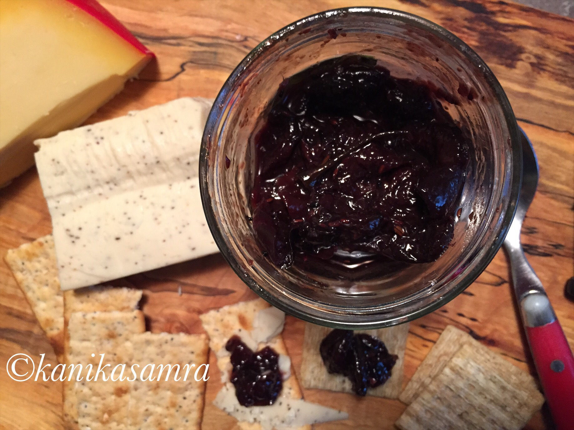 Cherry and Ginger Chutney