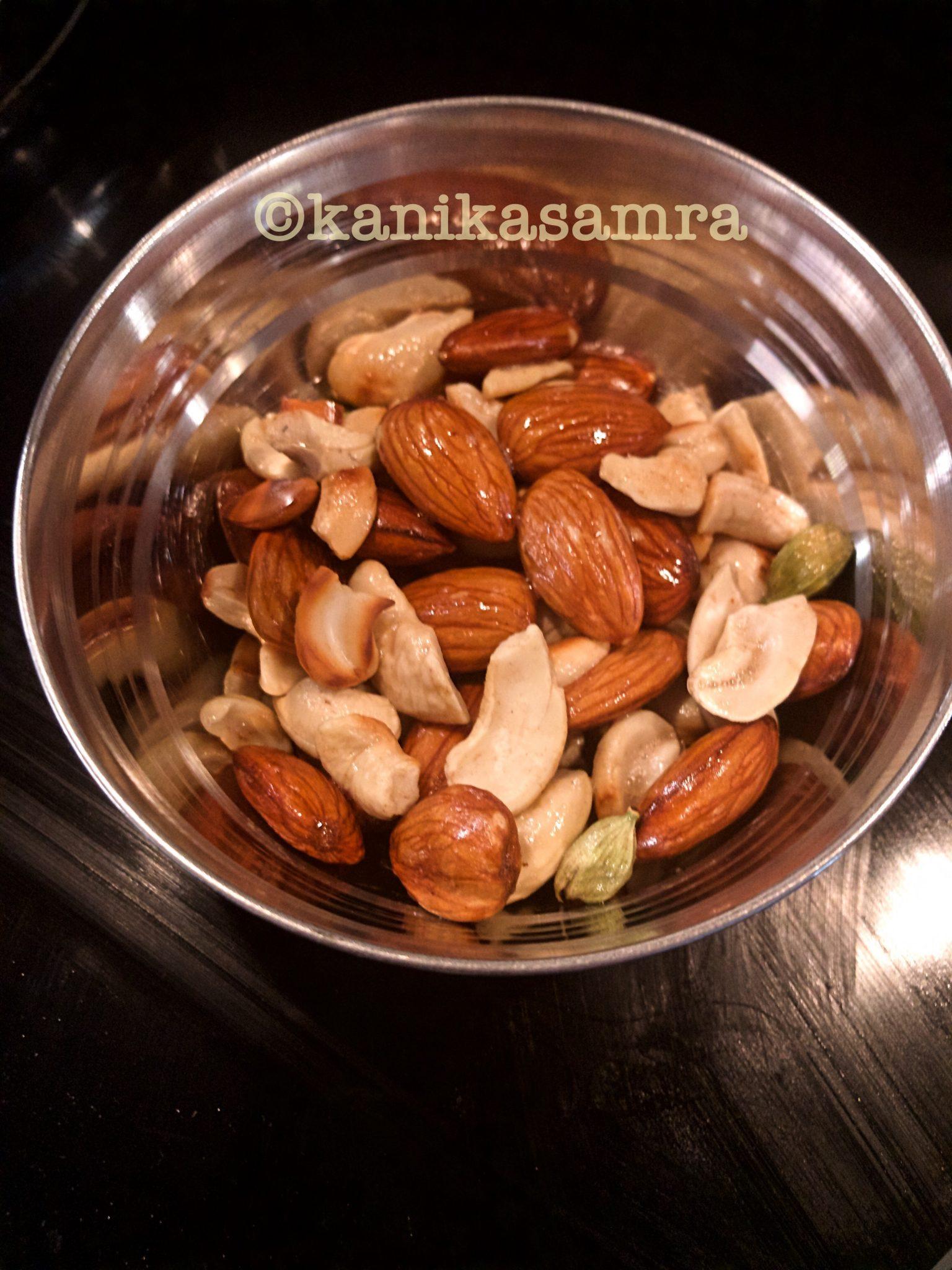 Sauteed nuts