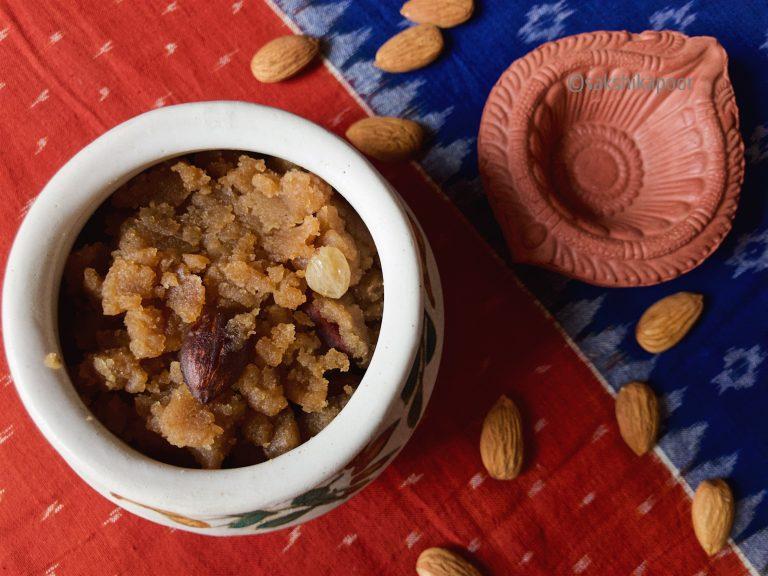 homemade kadha parshad