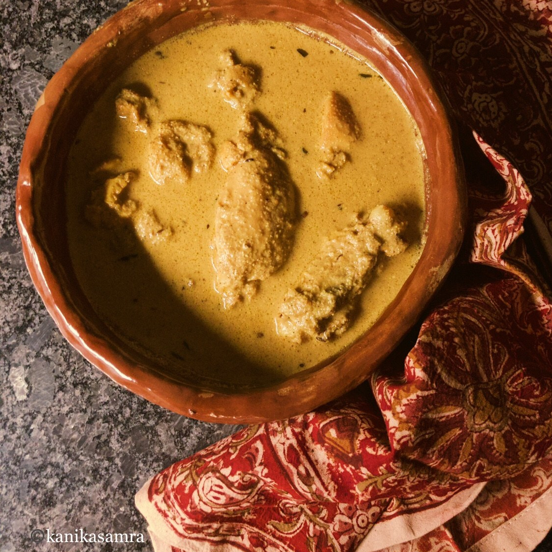 Chicken Curry with Mustard