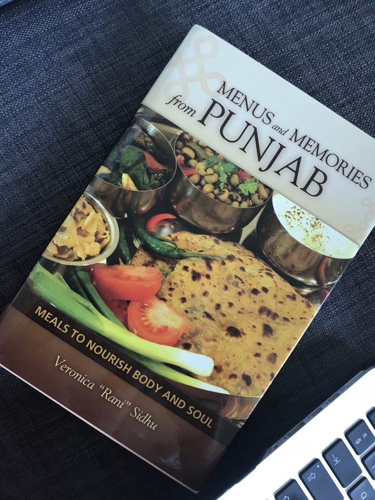 Menu and Memories from Punjab Book