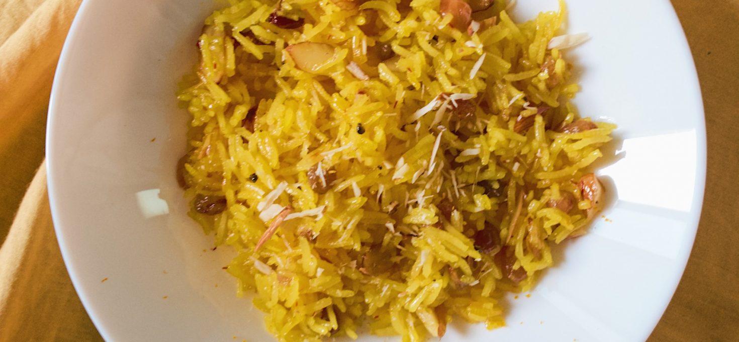 Punjabi Meetha Pulao recipe