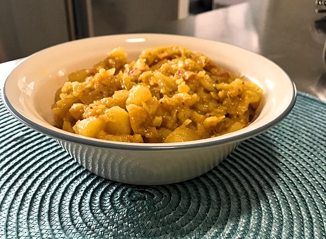 Aloo Cabbage in Instant Pot