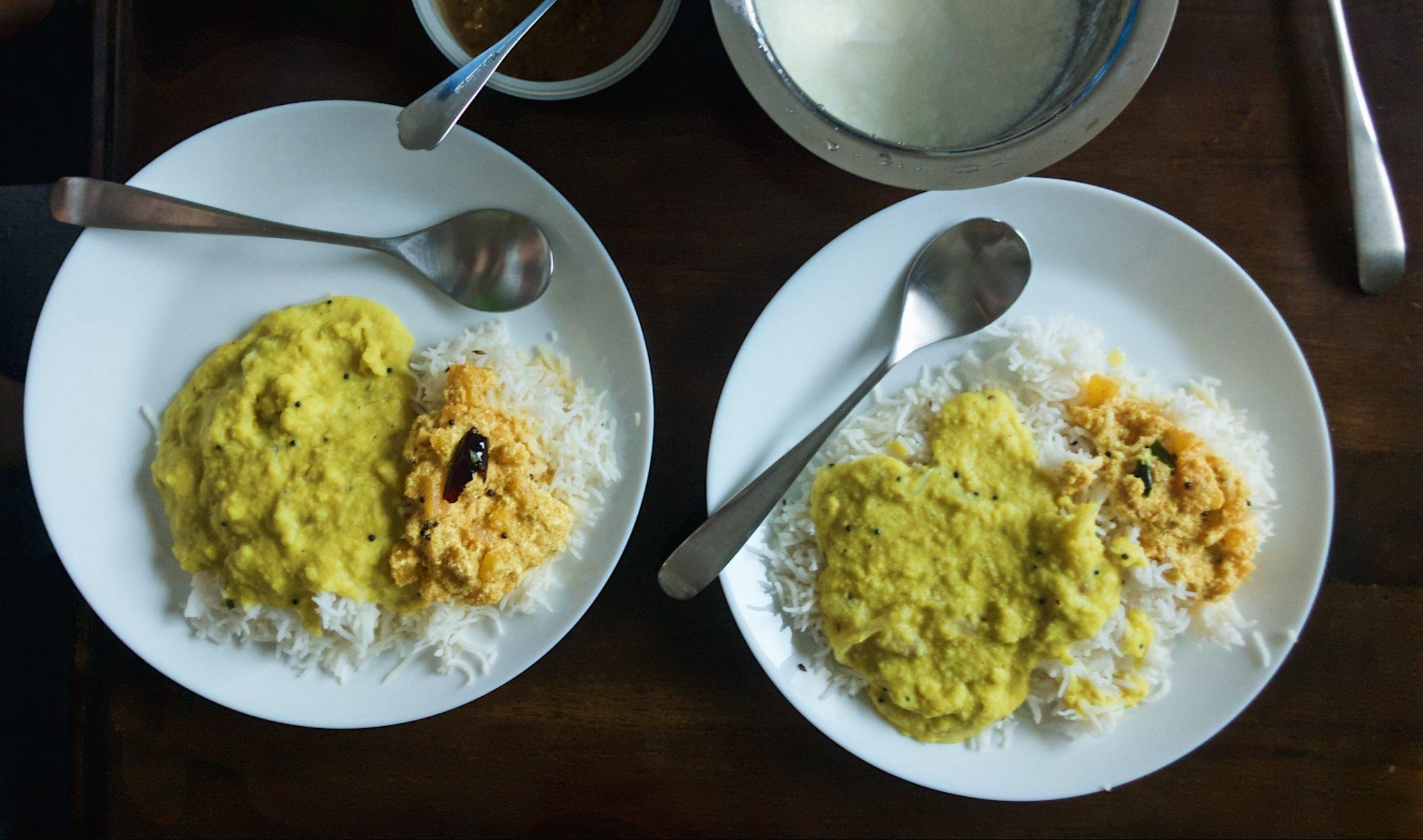 Pachadi with Kerala dal