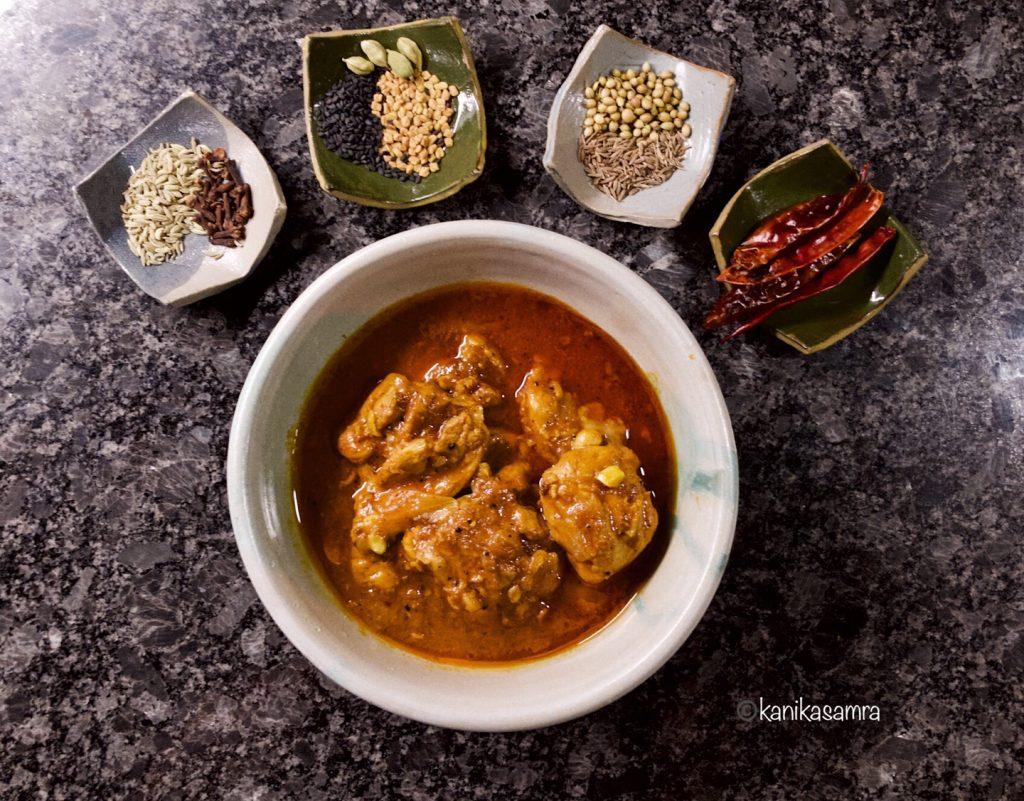 Spices for Achari Chicken