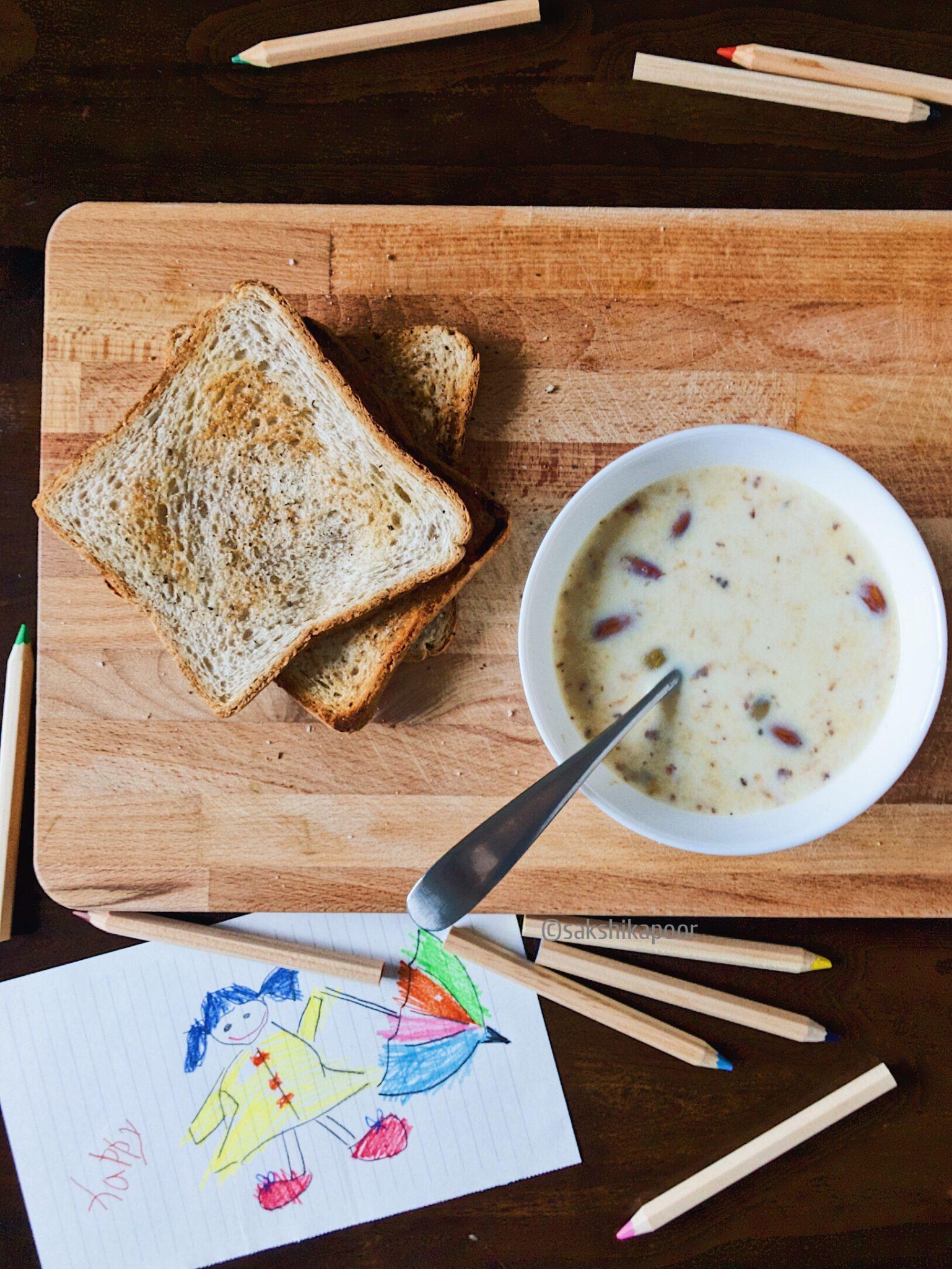 How to make Dalia porridge for children