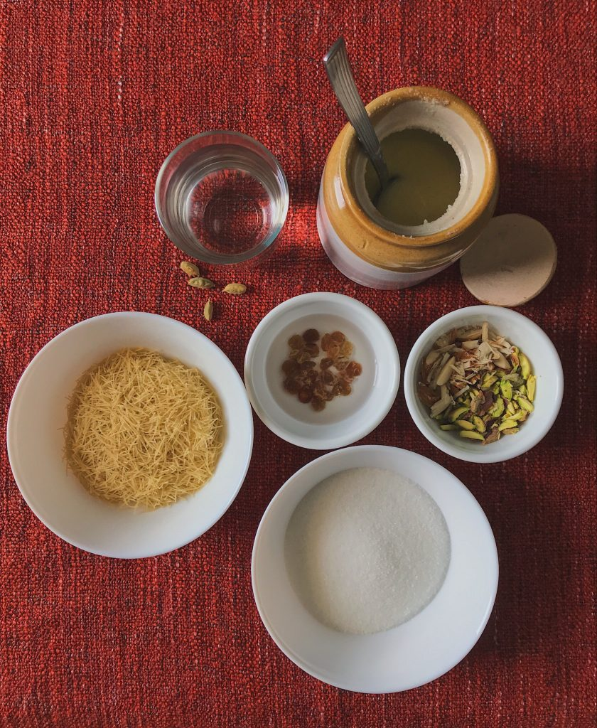 Meethi Sewiyan ingredients