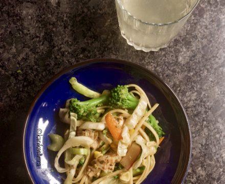 Warm Noodle Salad