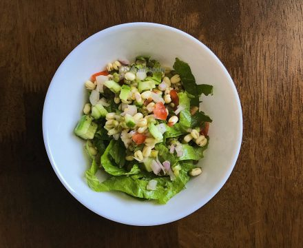 Sprout Salad ~  Simple and Versatile