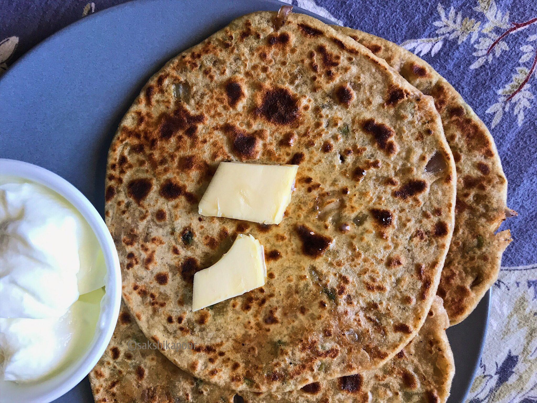 Gobhi paratha punjabi recipe