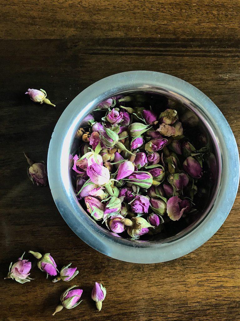 Gulkand and Rose Kheer recipe using Dry Rose petals