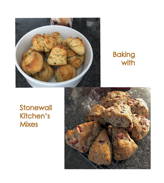 A Review of Baking Scones and Savory Biscuits with Stonewall Kitchen's Mixes