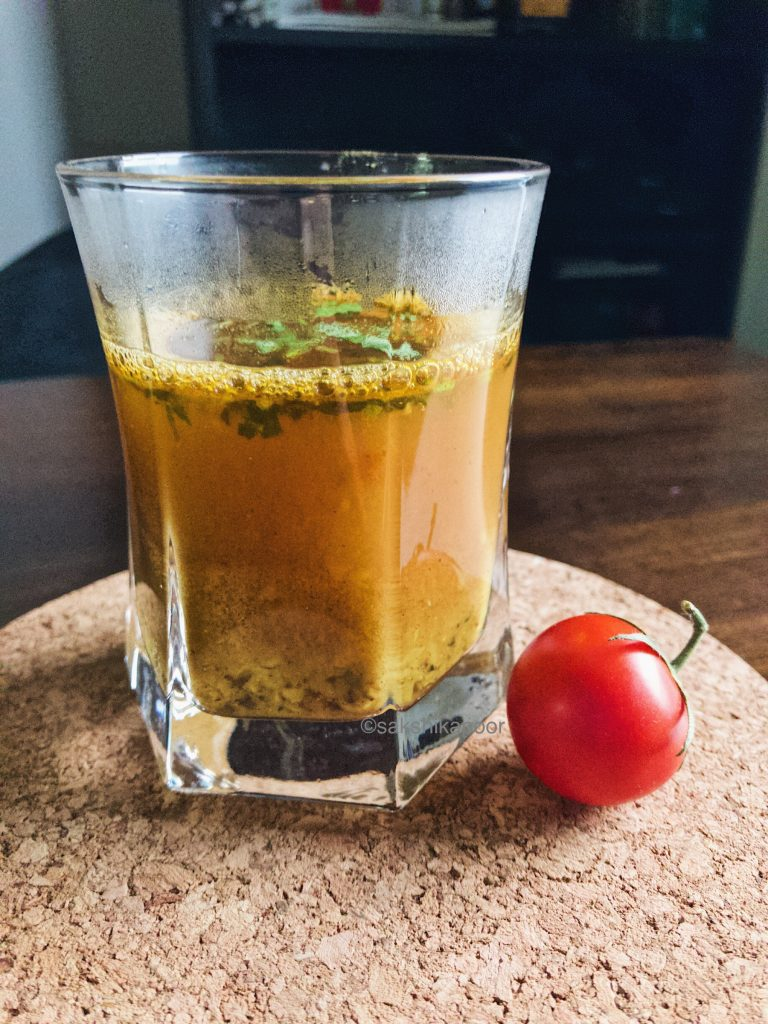 Rasam without Rasam powder