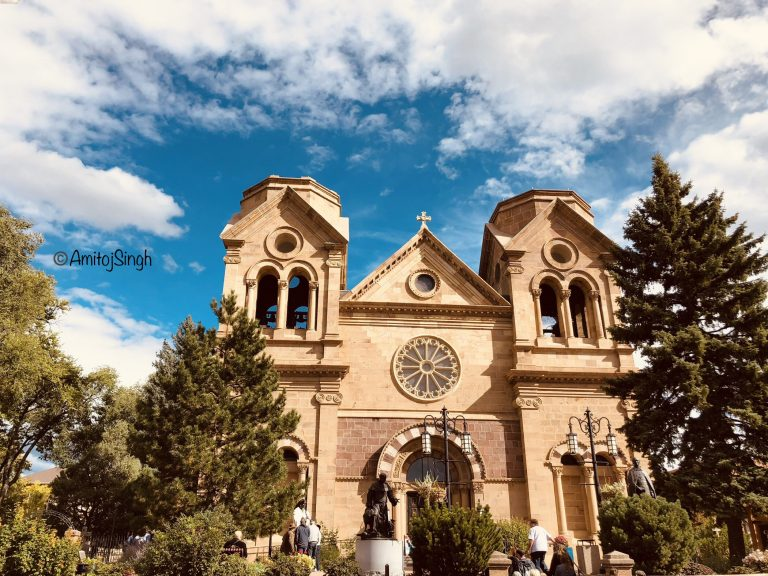 St Francis Cathedral in Santa Fe