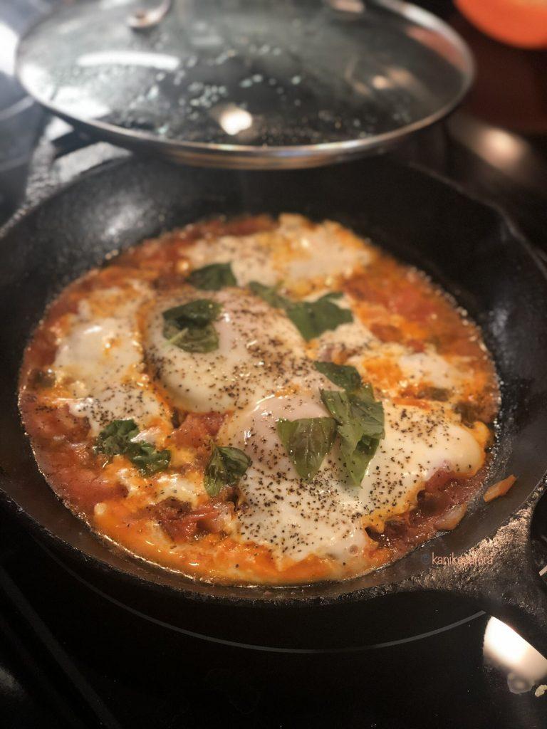 Shakshouka for breakfast or brunch