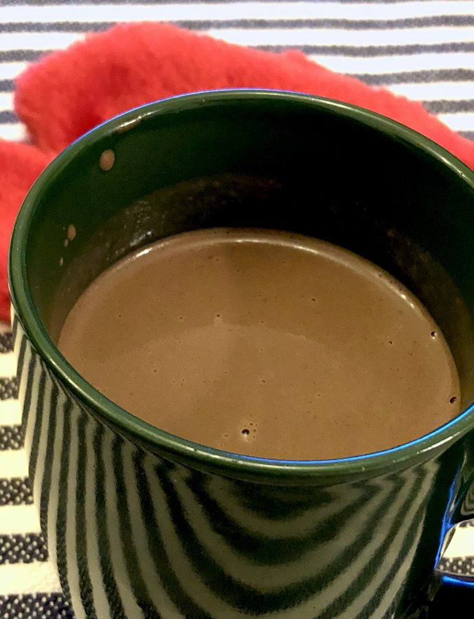 A Desi Spicy Hot Chocolate