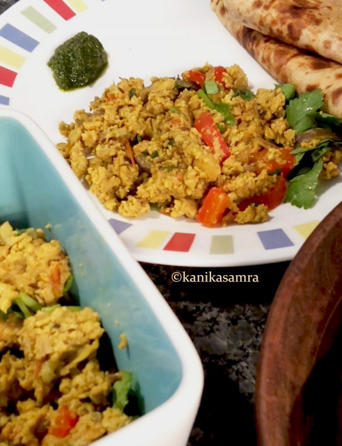 Ande ki Bhurji – Indian Scrambled Eggs
