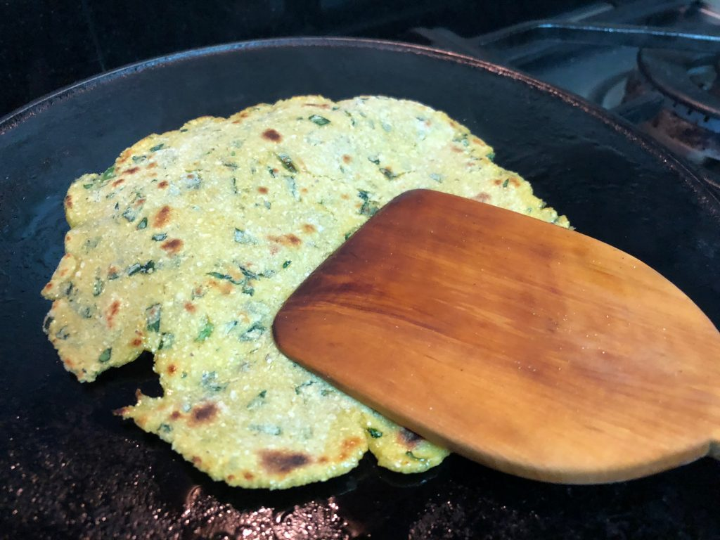 Makki methi ki roti recipe