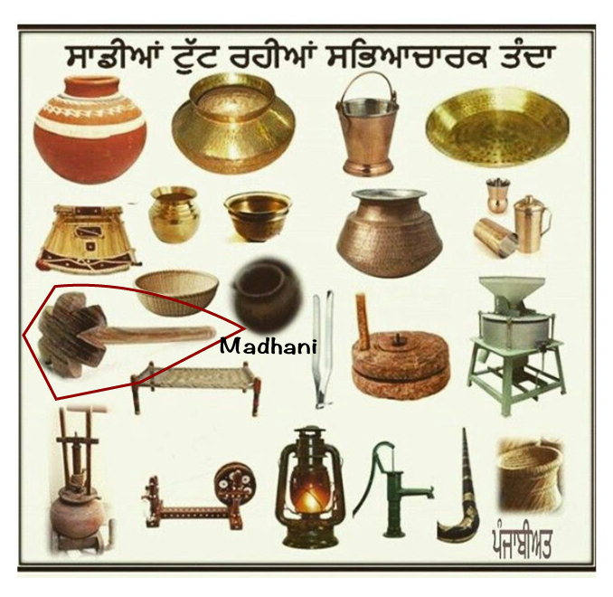 Madhani used in Punjab